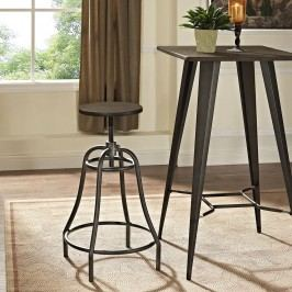 Toll Metal Bar Stool in Brown