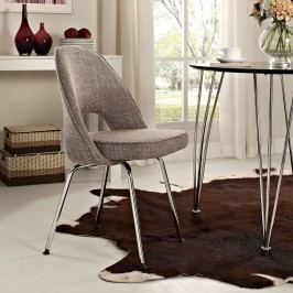 Cordelia Dining Fabric Side Chair in Oatmeal