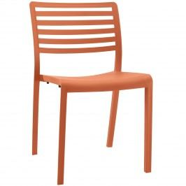 Enable Dining Chair in Orange