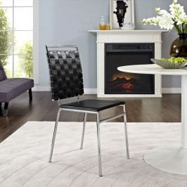 Fuse Dining Side Chair in Black