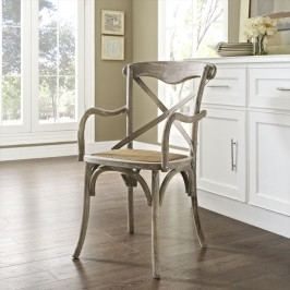 Gear Dining Armchair in Gray