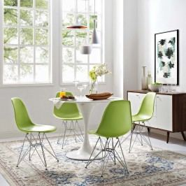 Paris Dining Side Chair in Green