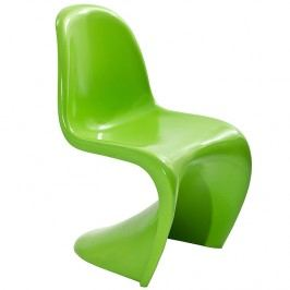 Slither Dining Side Chair in Green