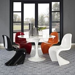 Slither Dining Side Chair in White