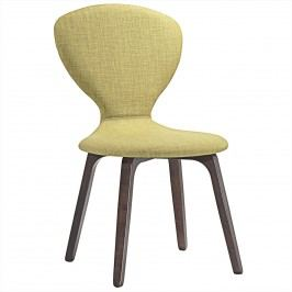 Tempest Dining Side Chair in Walnut Green