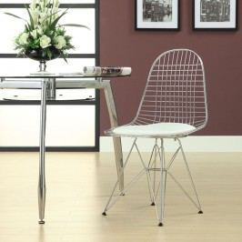 Tower Dining Side Chair in White
