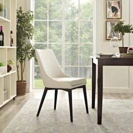 Viscount Fabric Dining Chair in Beige