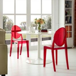 Casper Dining Chairs Set of 2 in Red