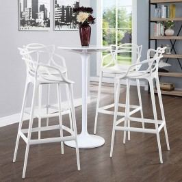 Entangled Bar Stool Set of 4 in White