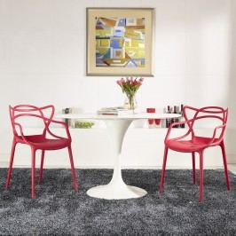 Entangled Dining Set Set of 2 in Red