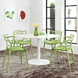 Entangled Dining Set Set of 4 in Green