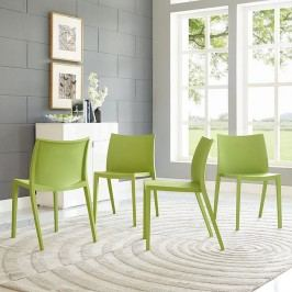 Gallant Dining Side Chair Set of 4 in Green