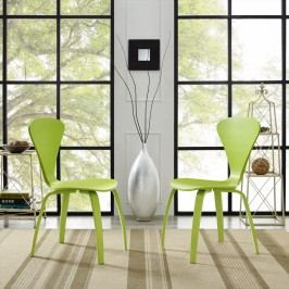 Vortex Dining Chairs Set of 2 in Green