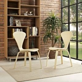 Vortex Dining Chairs Set of 2 in Natural