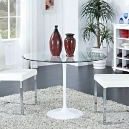 Circuit Dining Table in Clear