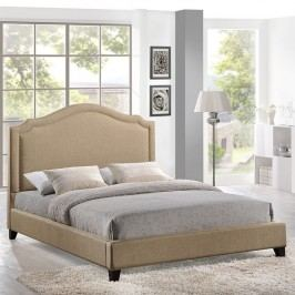 Charlotte Queen Bed in Beige
