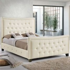 Claire Queen Bed in Ivory