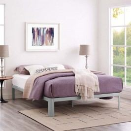 Corinne Full Bed Frame in Gray
