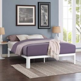 Corinne Full Bed Frame in White