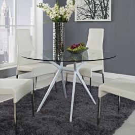 Tilt Dining Table in White
