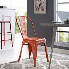 Promenade Side Chair in Red