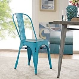 Promenade Side Chair in Turquoise