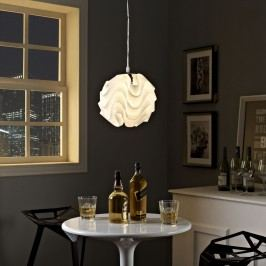 Billow Chandelier in White