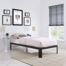 Corinne Twin Bed Frame in Brown