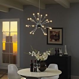 Gamut Chandelier in Silver