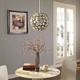 Pierce Aluminum Chandelier in Silver