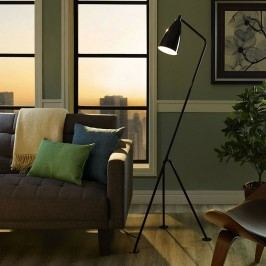 Askance Floor Lamp in Black