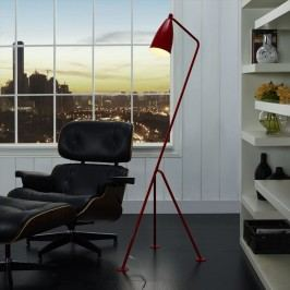 Askance Floor Lamp in Red