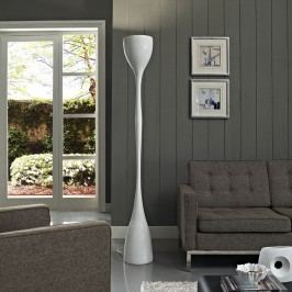 Pillar Floor Lamp in White