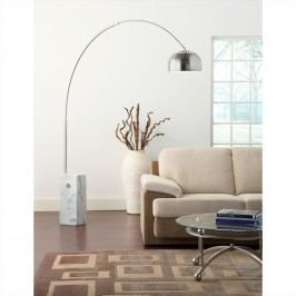 Sunflower Cube Floor Lamp in White