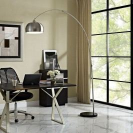 Sunflower Round Floor Lamp in Black