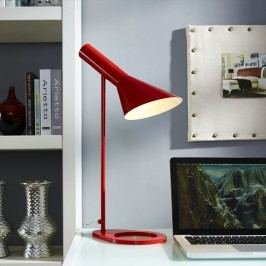 Flashlight Table Lamp in Red