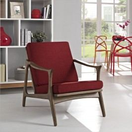 Pace Armchair in Walnut Red