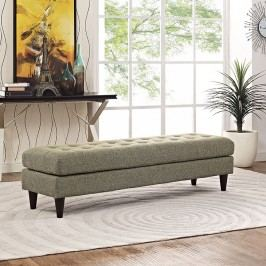 Empress Bench in Oatmeal