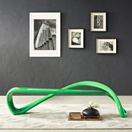 M??bius Bench in Green