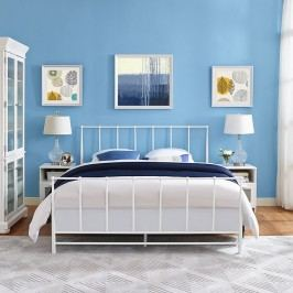 Estate King Bed in White