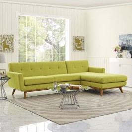 Engage Right-Facing Sectional Sofa in Wheat
