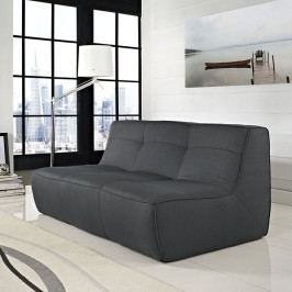 Align Upholstered Loveseat in Charcoal