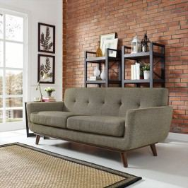 Engage Upholstered Loveseat in Oatmeal