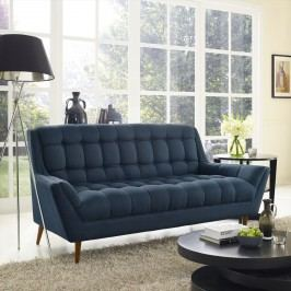 Response Fabric Loveseat in Azure