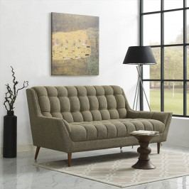 Response Fabric Loveseat in Oatmeal
