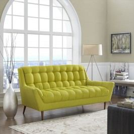 Response Fabric Loveseat in Wheatgrass