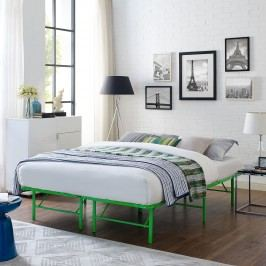 Horizon Full Stainless Steel Bed Frame in Green