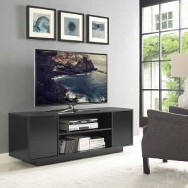 Portal TV Stand in Black