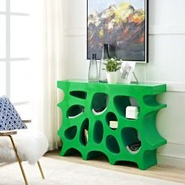 Wander Small Console Table in Green