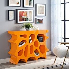 Wander Small Console Table in Orange